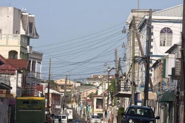 Rues commerçantes de Basse-Terre