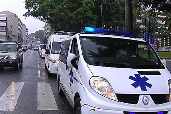 mobilisations ambulanciers