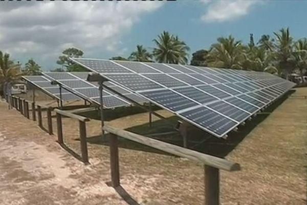 Lifou : ferme solaire photovoltaïque