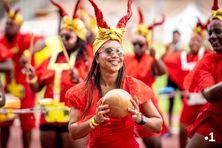 Carnaval du mardi gras 2021 au stade Pierre Aliker à Dillon.