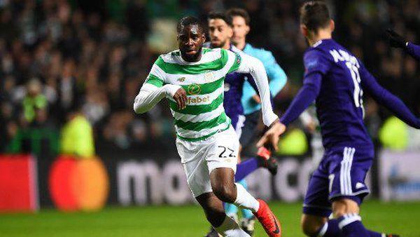 Odsonne Edouard, attaquant du Celtic Glasgow