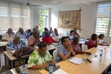 Organisé au siège de l'EPKNC, le séminaire intégrait plusieurs intervenants de la société civile.