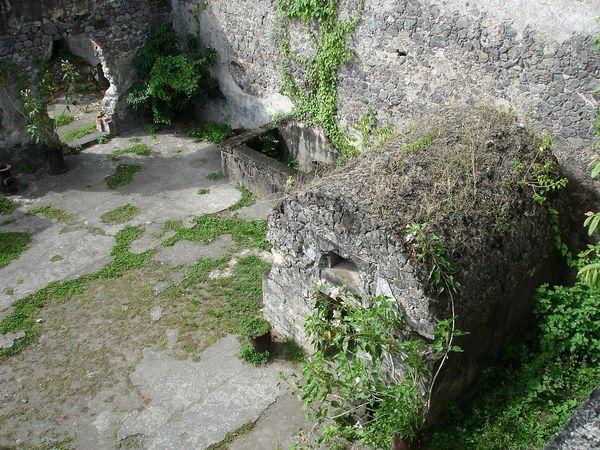Cellule de Cyparis à Saint-Pierre, Martinique