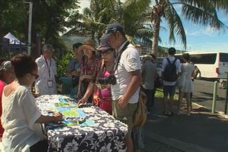 2000 croisiéristes chinois en Polynésie