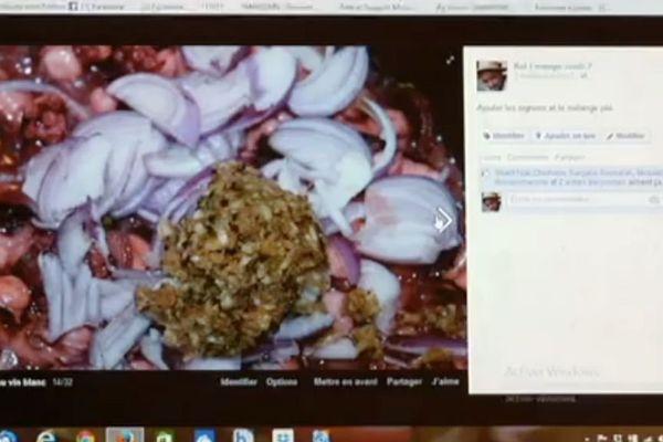 Cuisine créole sur internet