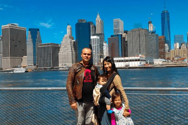 Le Calédonien s'est installé en famille à New York