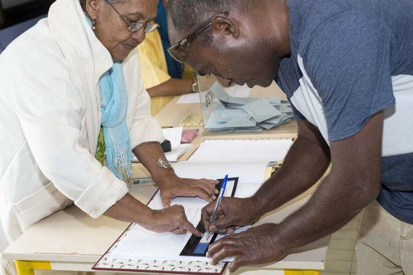 Vote en Nouvelle-Calédonie