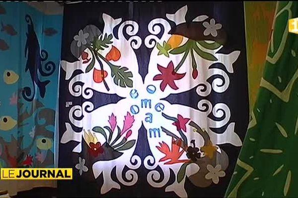 16e salon du tifaifai : de l'imagination et des couleurs