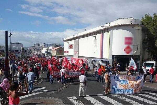 Manifestation intersyndicale Saint-Denis