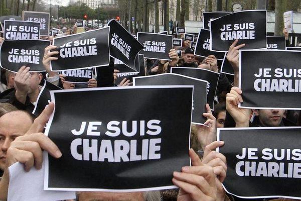 manif Charile Nantes