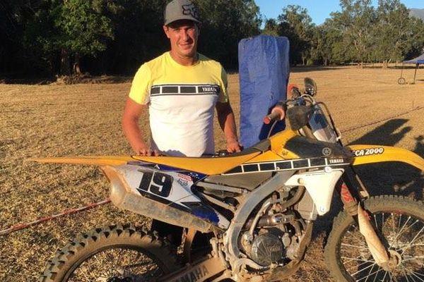 Wilrick Cabanilles. Moto-cross