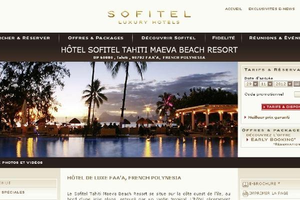 SOFITEL WEB
