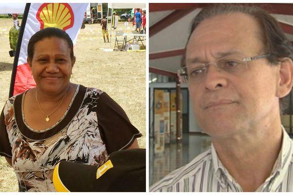 Valentine Eurisouké, ministre de la santé de Nouvelle-Calédonie et Patrick Hiowell, ministre de la santé de Polynésie française
