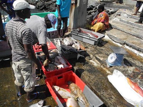 pêcheurs à Mayotte