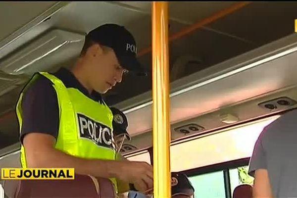 Contrôles routiers : les bus en ligne de mire