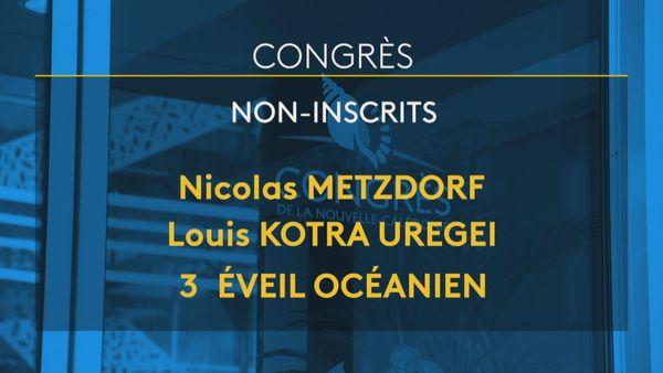 Non-inscrits au Congrès