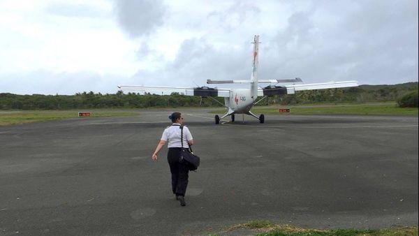 L'avion d'Air Loyauté bloqué à Tiga, fin (1er décembre 2017)