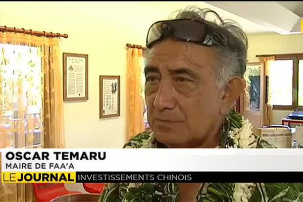Oscar Temaru relance l'idée d'une route traversière à Tahiti