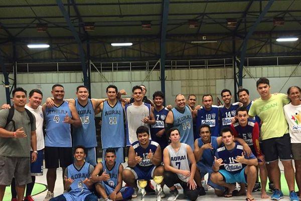 Basket : Aorai B décroche le titre de champion de Polynésie District
