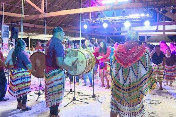 Des groupes de Guyane et du Surinam ont assuré la prestation