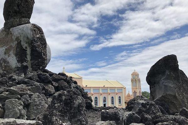 Notre-Dame des Laves à Sainte-Rose.