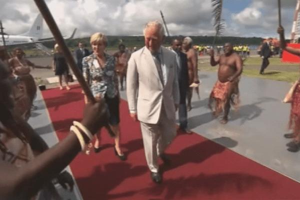 Prince Charles dans le Pacifique Sud
