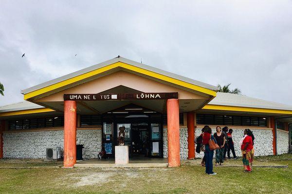 Lifou: médiathèque Lohna à Wé