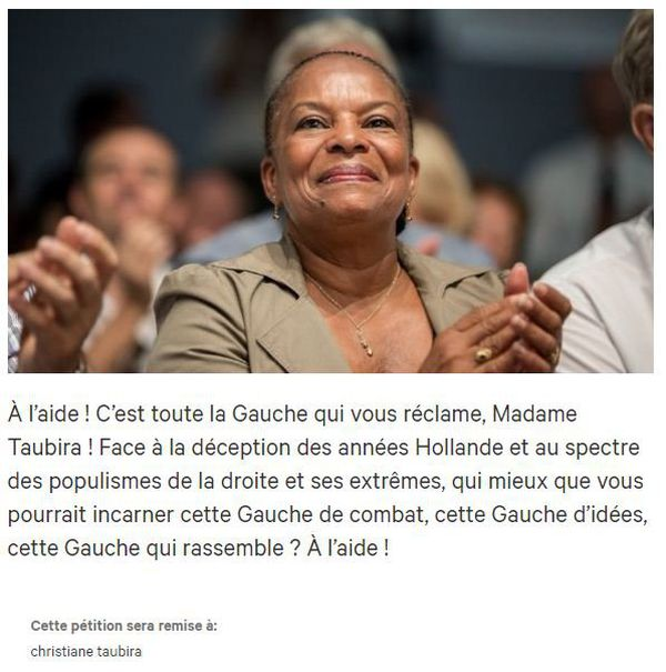 Christiane Taubira : le retour ?