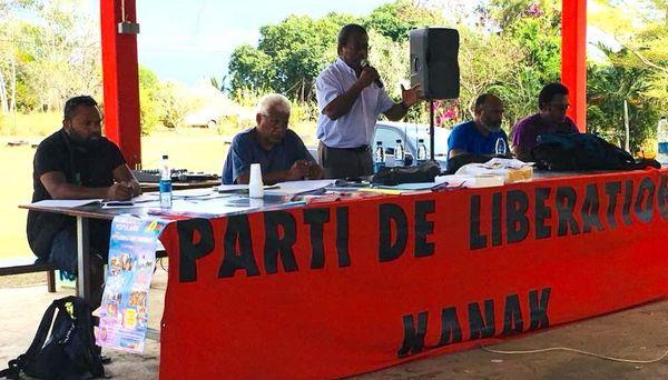 Assemblée générale du Palika à Gamaï, Kaala-Gomen, 28 juillet 2018, Jean-Pierre Djaïwé