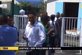 Policiers devant tribunal