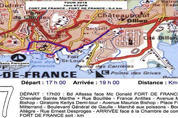Tour cycliste de Martinique : contre-la-montre par équipes