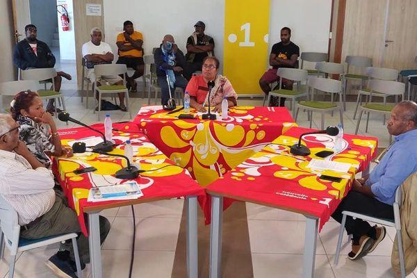 Municipales 2020 : débat du second tour à la mairie de Maré, 22 juin