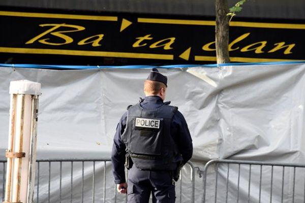 Bataclan après l'attentat
