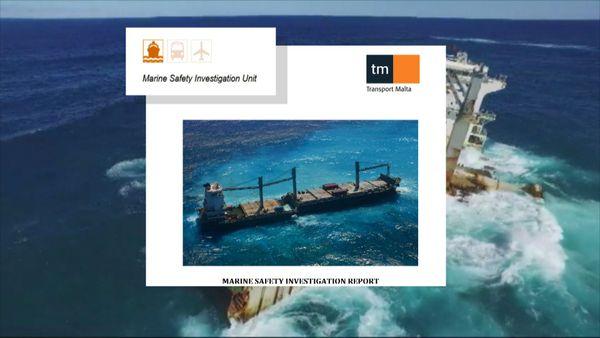 Rapport d'enquête sur l'échouement du kea Trader