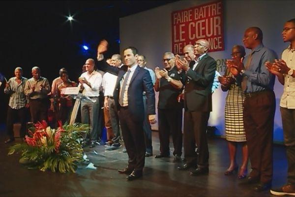 Benoît Hamon en Martinique