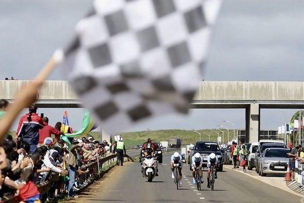 JIOI 2019 cyclisme course contre la montre equipe mayotte 200719