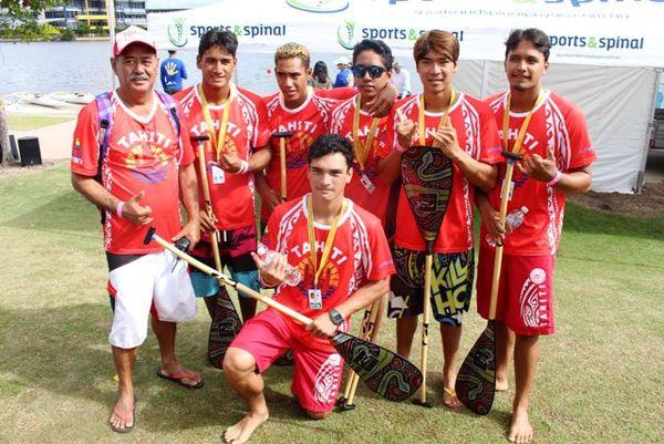 Les juniors de Tahiti