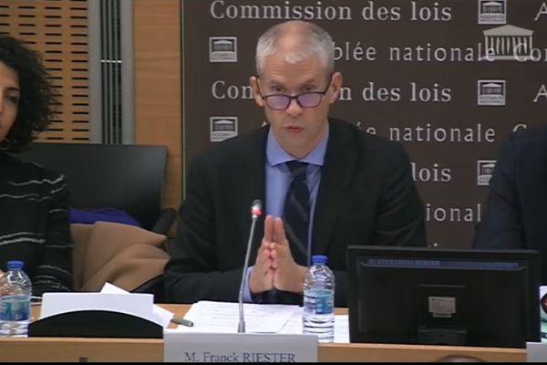 Franck Riester à l'Assemblée Nationale (Délégation Outre-mer)