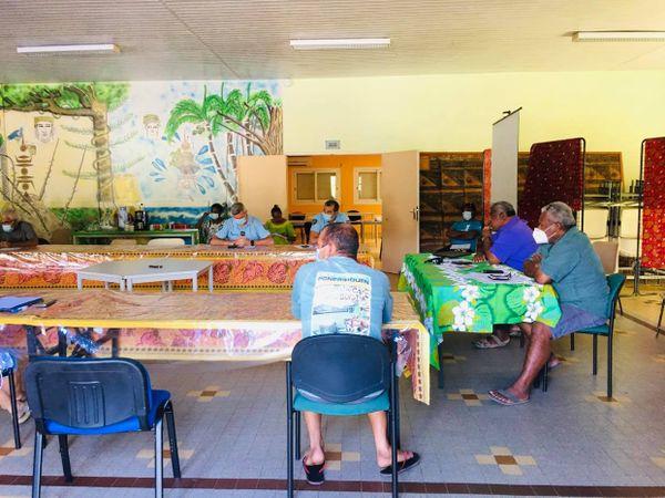 Réunion cellule Covid mairie de Ponérihouen
