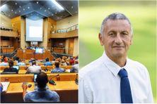 Philippe Peti - candidat à l'élection de la Collectivité Territoriale de Martinique des 20 et 27 juin 2021.