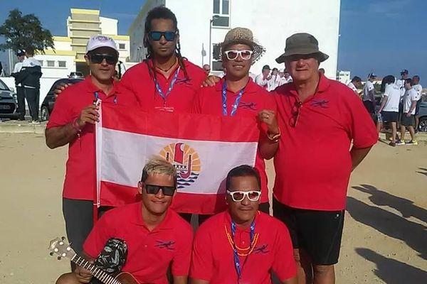 Team Tahiti championnat du monde de pêche sous-marine 2018