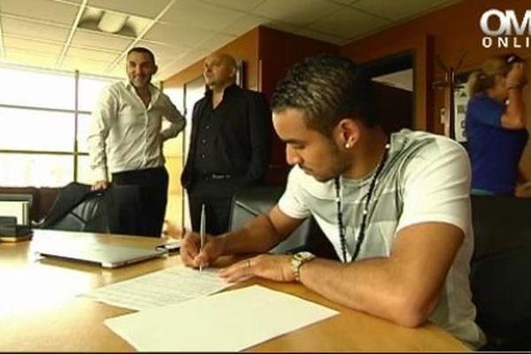 Signature Dimitri Payet