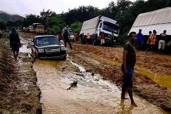 Les routes sont impraticables à Mada 23 janvier 2020
