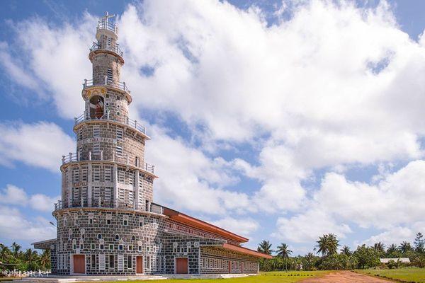 Wallis et Futuna - Eglise de TEPA