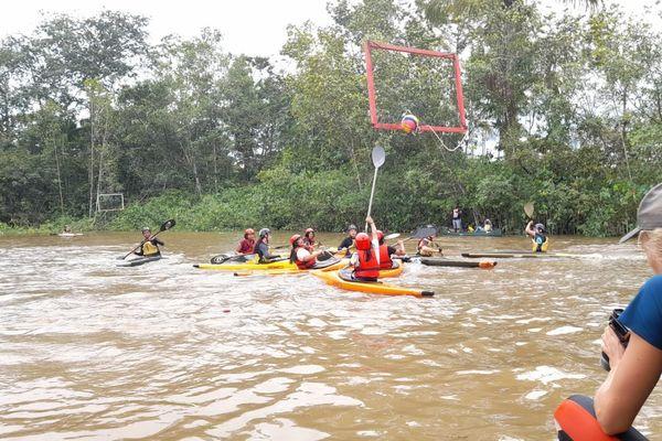 Championnat de Guyane de Kayack Polo