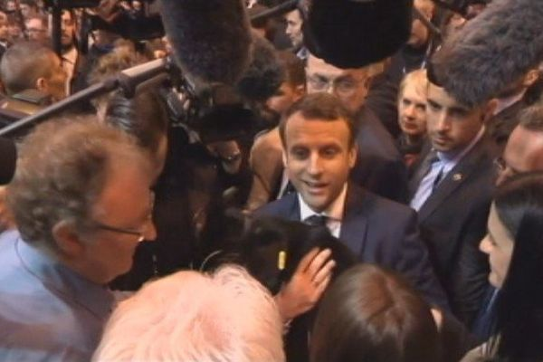 Emmanuel Macron au Salon de l'agriculture