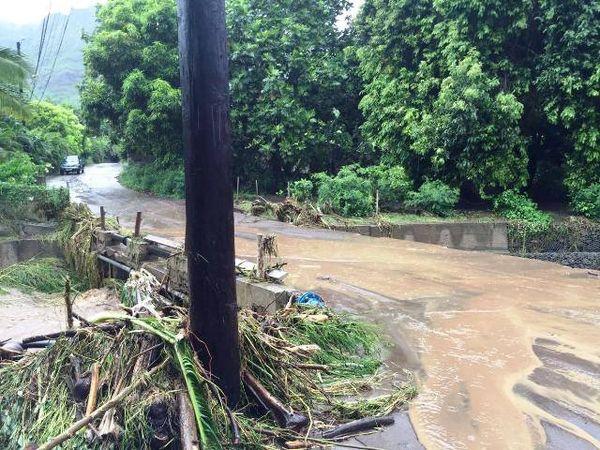 inondations à ua pou