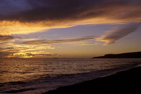 couché de soleil La Réunion