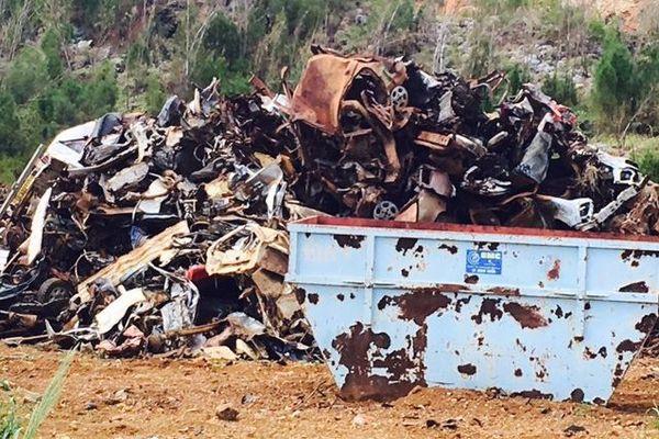 VHU carcasses enlevées à Houaïlou