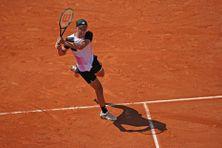 Enzo Couacaud à Roland-Garros, le 30 mai 2021